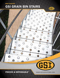 GSI Grain Bin Access Stairs