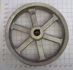 "12"" x 1-1/4"" x 3Belt  Alum. Pulley"