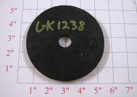 "5"" O.D. Rubber sweep wheel"