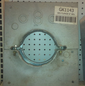 "GK1143 Bin Wall Flange for 6"" Unloads"