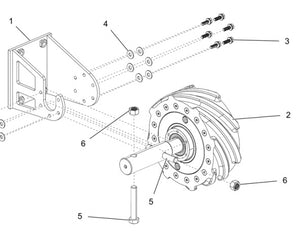 GK80398 Sweep Wheel Assembly