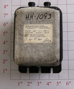 2 Pole Ignition Transformer