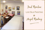 Soul Rainbow Silk Live Painting & Angel Reading