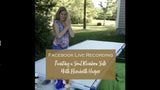 Facebook Live Painting a Soul Rainbow Silk with Elizabeth Harper Sealed With Love