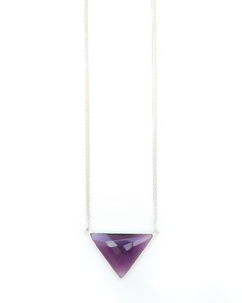 Divine Amethyst Necklace - From Sealed With Love - 2