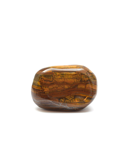 Gold Tigers Eye Meditation Stone - From Sealed With Love - 2