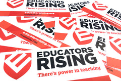 Educators Rising Stickers (Bundle of 25)
