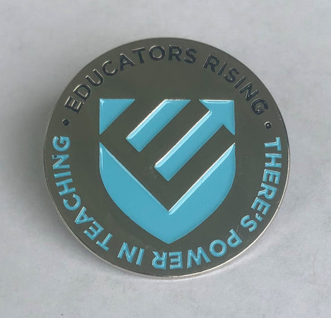 Educators Rising Blue Pin