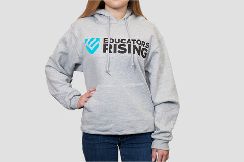 Educators Rising Drawstring Hoodie - Blue