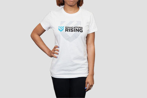 Educators Rising Women's Logo Tee - Blue