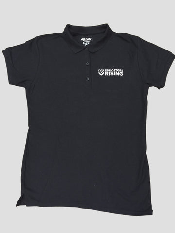 Educators Rising Ladies Double Pique Polo