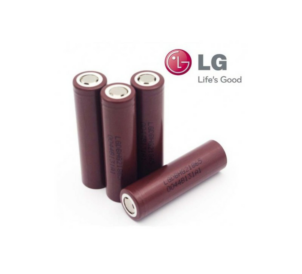 LG Brown HG2 INR18650 LiMn 3000mAh Battery - 20 Amp - serrano vape