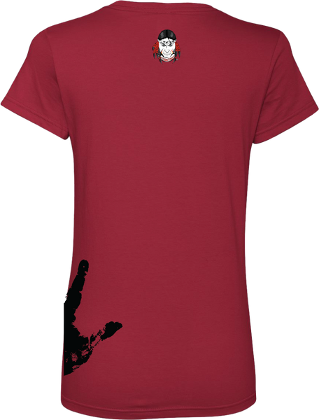 WarPaint Apparel Ladies T's V Neck - serranovape