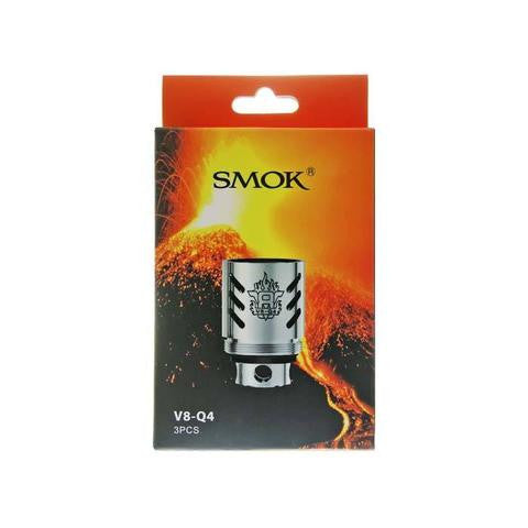 SMOKTech TFV8 Series V8-Q4 Quadruple Coil Head 3 Pack - serrano vape