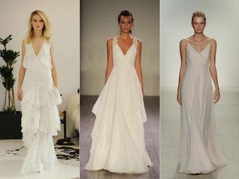 wedding dress fall season