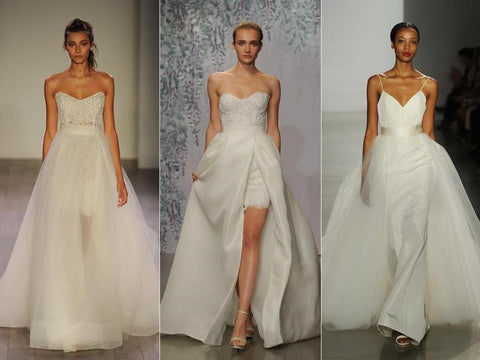 Wedding Dresses with Removable Skirt