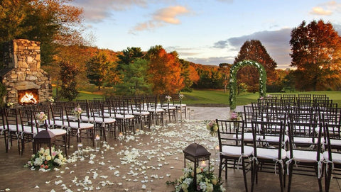 Fall Outdoor Wedding Venue