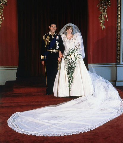 Princess Diana Wedding Photo