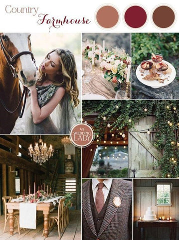 Fall Wedding Color Pallette