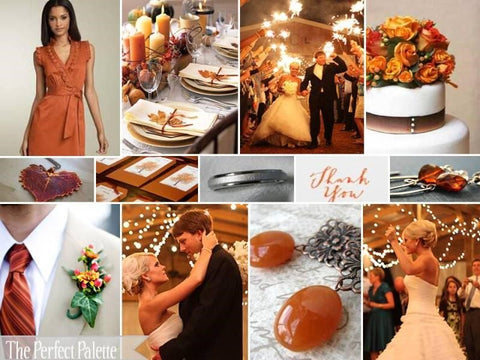 Rustic Fall Wedding Color Palette