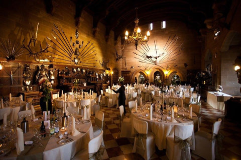 Fall Wedding Castle Venue