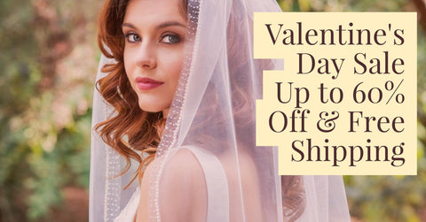 wedding veil valentine's day sale