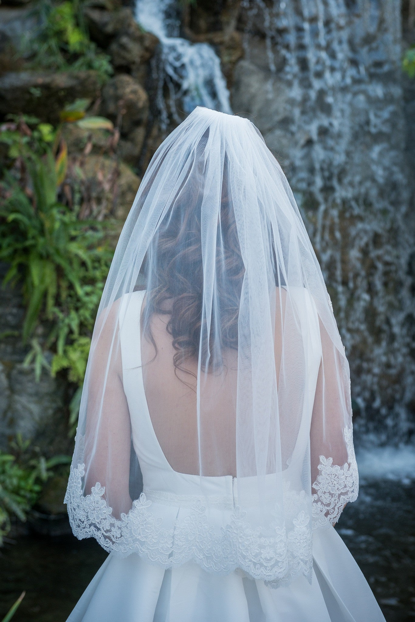 Lace Wedding Veil - Willow - ZVEIL