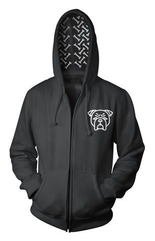 English Bulldog Hoodie - English Bulldog Apparel for Humans