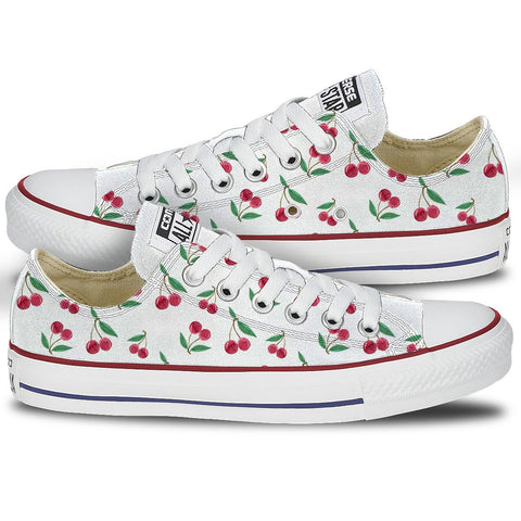 Converse Cherry Print Shoes
