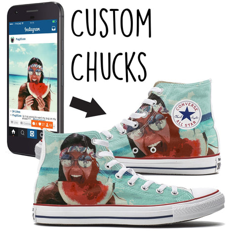 Customize Converse Shoes Online