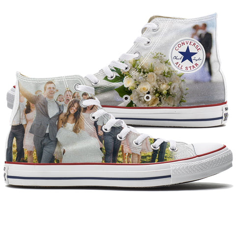 Custom Converse Wedding Shoes from Tready Shoes