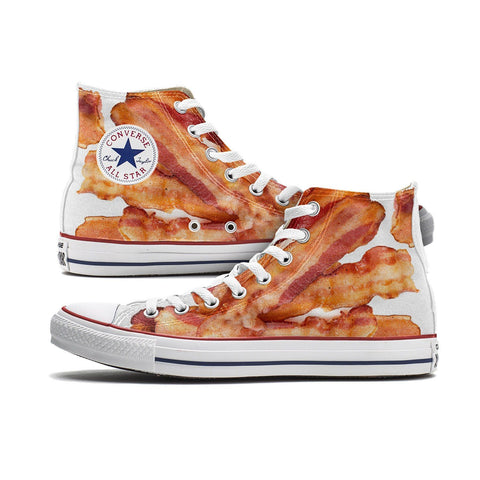 Custom Converse - Bacon Converse Chucks High Tops