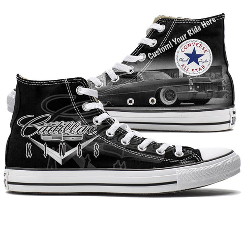 Shoes - Customizable Cadillac Kings Converse High Tops