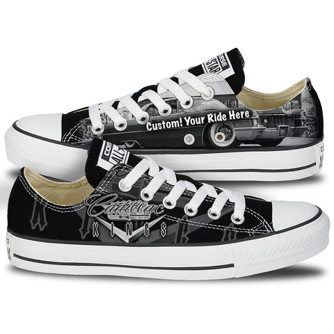 Shoes - Customizable Cadillac Kings Low Top Chucks