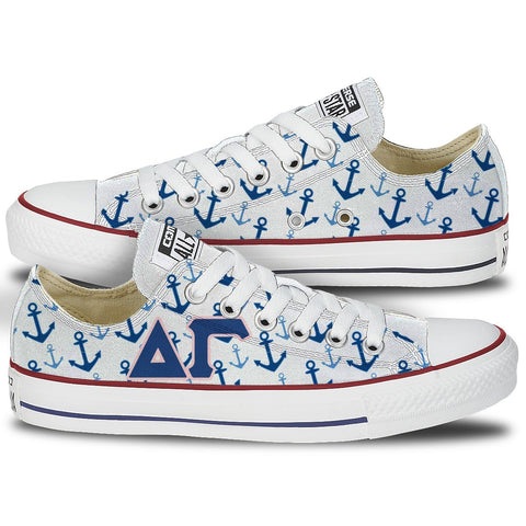 Shoes - Delta Gamma Converse