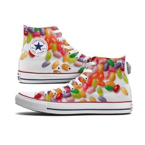 Shoes - Jelly Bean Converse High Top Chucks
