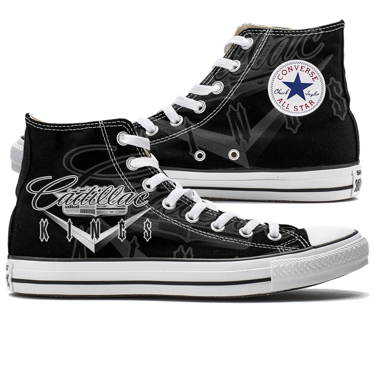 converse shoes high tops. shoes - limited edition cadillac kings converse high top tops s