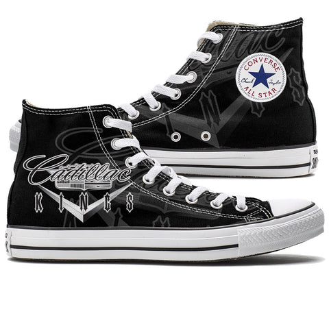 Shoes - Limited Edition Cadillac Kings Converse High Top