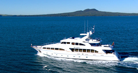 Alani, Super Motor Yacht, Auckland, New Zealand