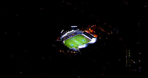 Eden Park, At Night, New Zealand