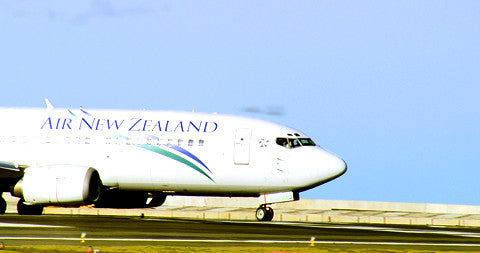 Air New Zealand Plane Taxiing, New Zealand