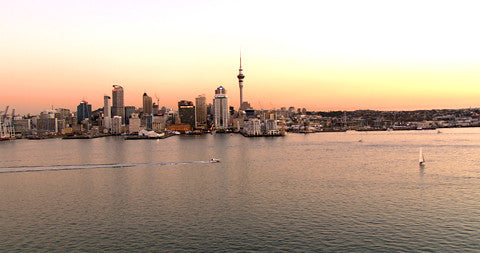 Auckland CBD and Harbour, New Zealand
