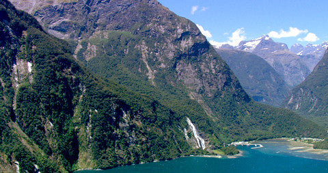 Bowen Falls, Milford Sounds, New Zealand