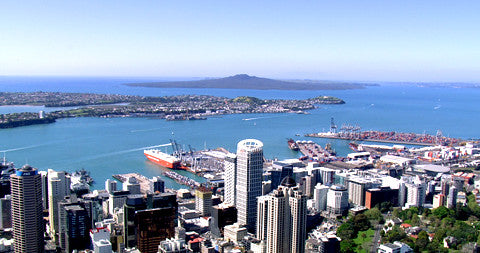 Auckland CBD, North Shore, Rangitoto, New Zealand