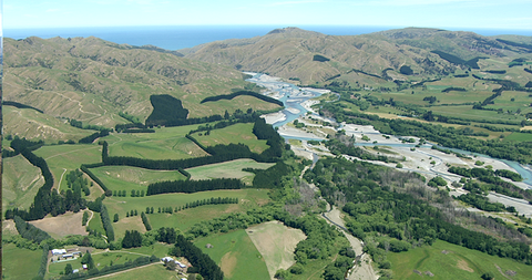 Braided River, South Island