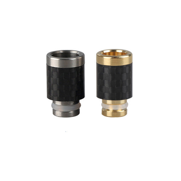 510 Carbon Fiber/ Stainless Steel Drip Tip - drip tip - My Little Vaporium - My Little Vaporium - MLV Sydney - Australia Vape Shop - Vape & Electronic Cigarettes - E-juices & Mods