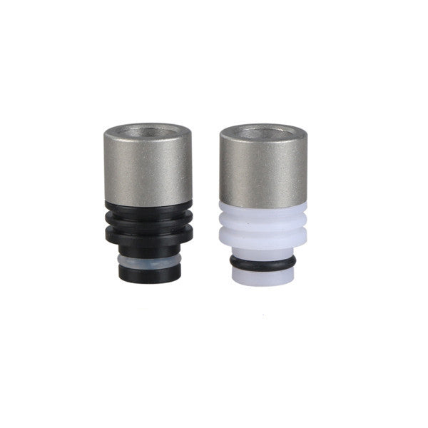 510 Sandblasted Stainless Steel/ Delrin Drip Tip - drip tip - My Little Vaporium - My Little Vaporium - MLV Sydney - Australia Vape Shop - Vape & Electronic Cigarettes - E-juices & Mods