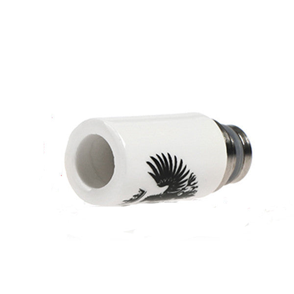 510 Painted Eagle Ceramic Drip Tip - drip tip - My Little Vaporium - My Little Vaporium - MLV Sydney - Australia Vape Shop - Vape & Electronic Cigarettes - E-juices & Mods
