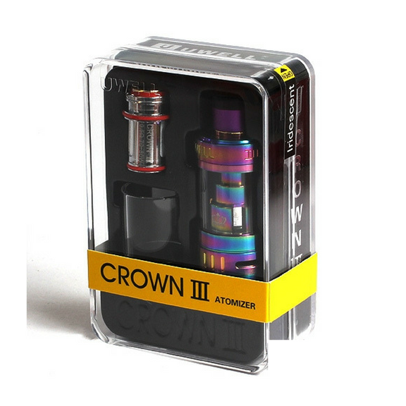 Uwell Crown III Sub-ohm Tank (New 5ml version) - tank - Uwell - My Little Vaporium - MLV Sydney - Australia Vape Shop - Vape & Electronic Cigarettes - E-juices & Mods