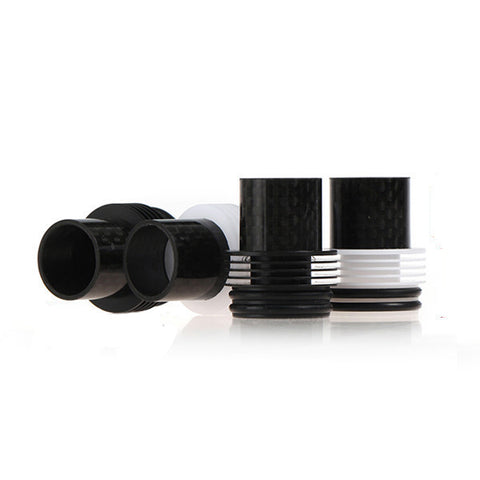 Chuff Enuff Style Carbon Fiber Drip Top - drip tip - My Little Vaporium - My Little Vaporium - MLV Sydney - Australia Vape Shop - Vape & Electronic Cigarettes - E-juices & Mods